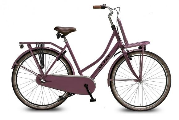 Altec-Dutch-28inch-Transportfiets-N3-Dark-Rose-57-cm