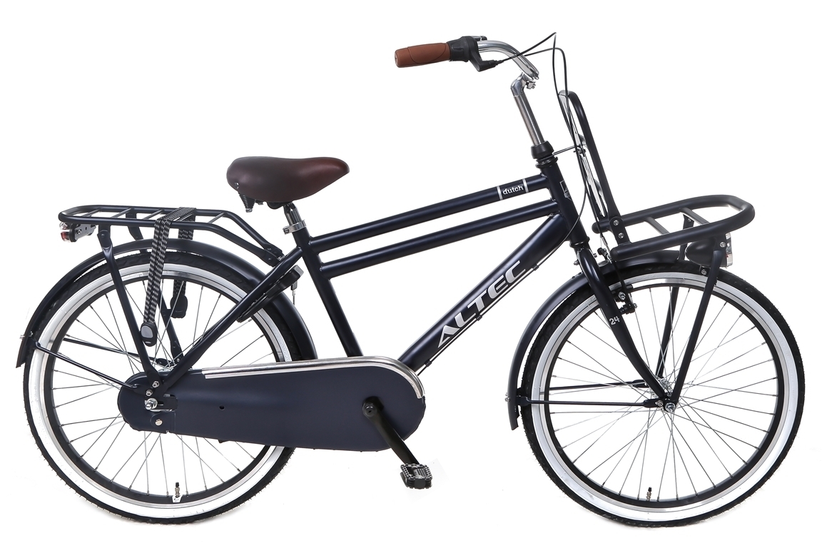 Altec Dutch 24 inch jongensfiets in doos verpakking – Jeans Blue