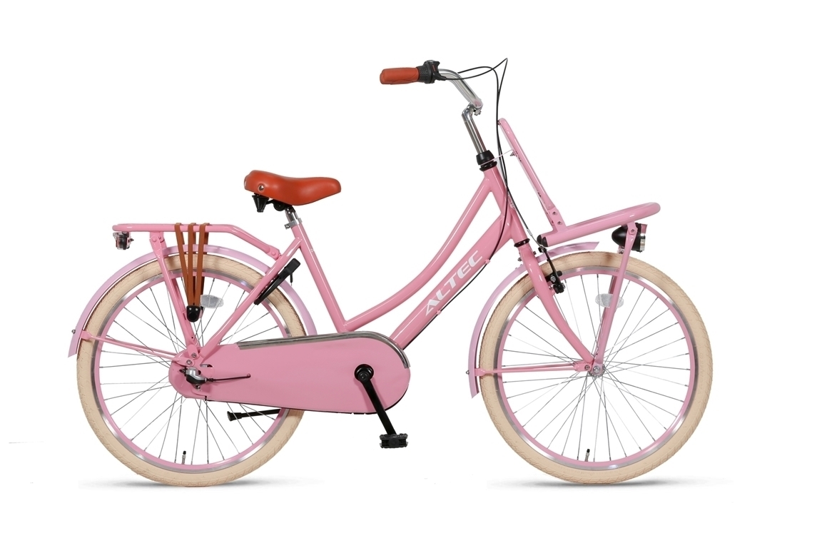Altec Dutch 24 inch meisjesfiets – Roze
