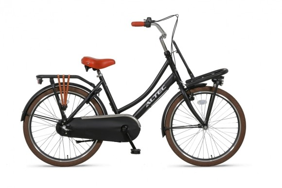 Altec-Dutch-24inch-Transportfiets-N3-Zwart