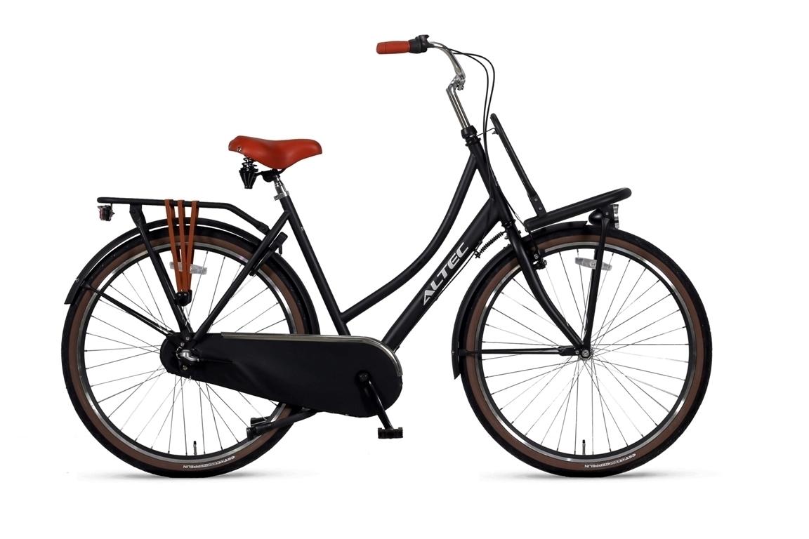 Altec Dutch 28 inch damesfiets 57 cm- Zwart