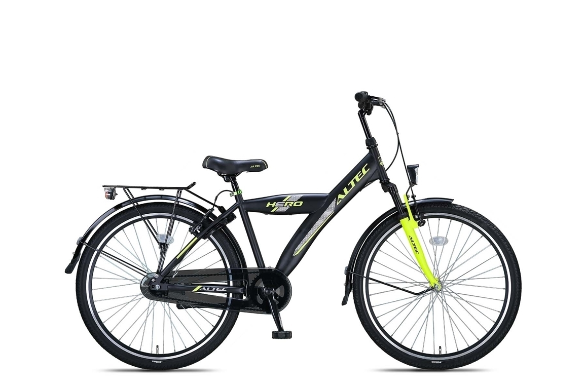 Altec Hero 26 inch jongensfiets – Lime Green