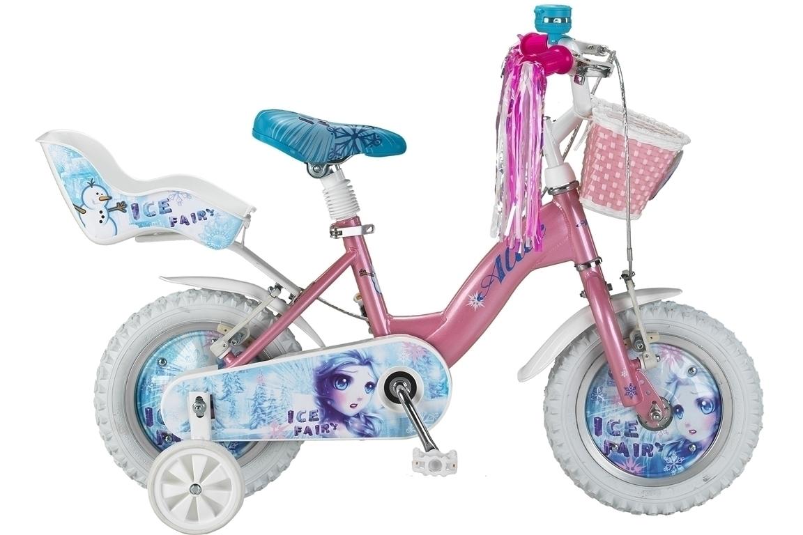 Altec Icy Fairy 12 inch meisjesfiets – roze