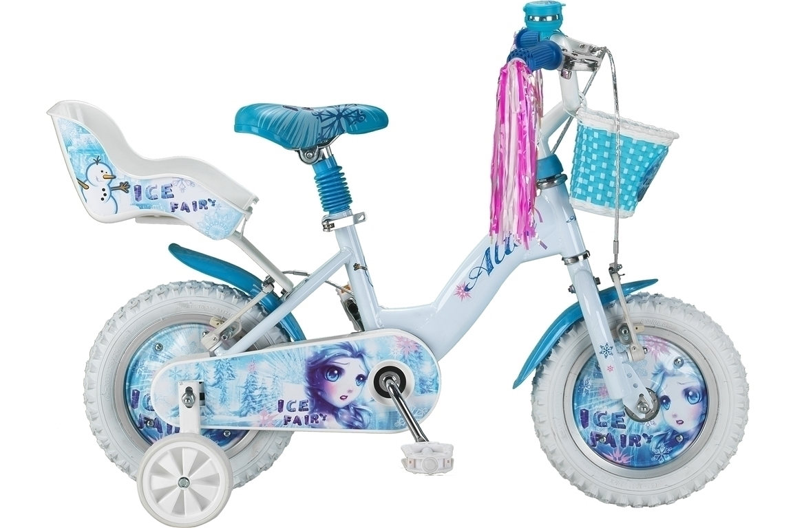 Altec Icy Fairy 12 inch meisjesfiets – wit
