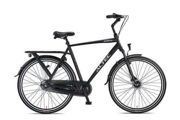 Altec-Omega-Plus-28-inch-Herenfiets-N7-54cm-Mat-Zwart-2020