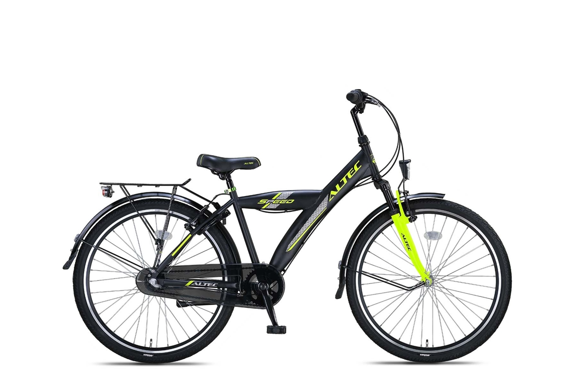 Altec Speed 26 inch jongensfiets in doos verpakking – Lime Green