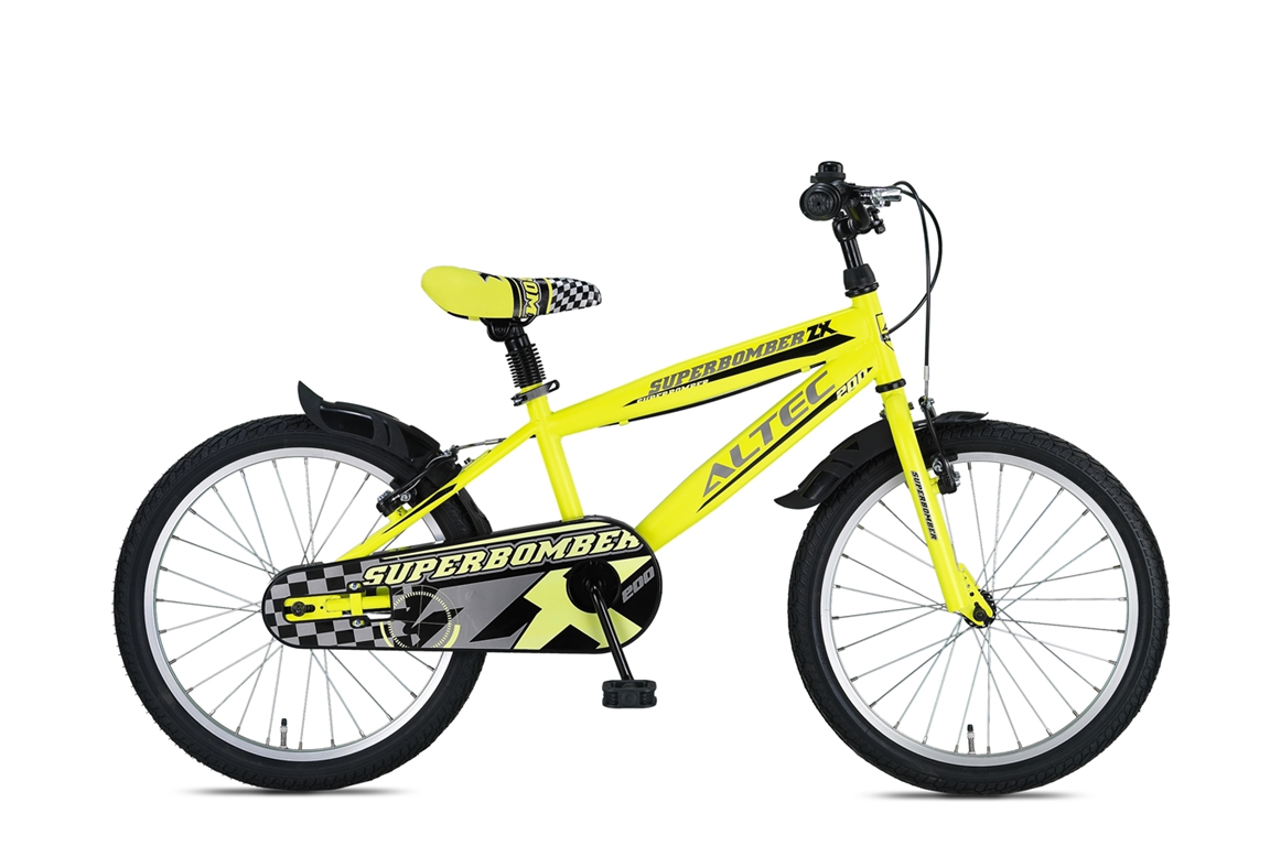 Altec Super Bomber 20 inch jongensfiets – Lime Green