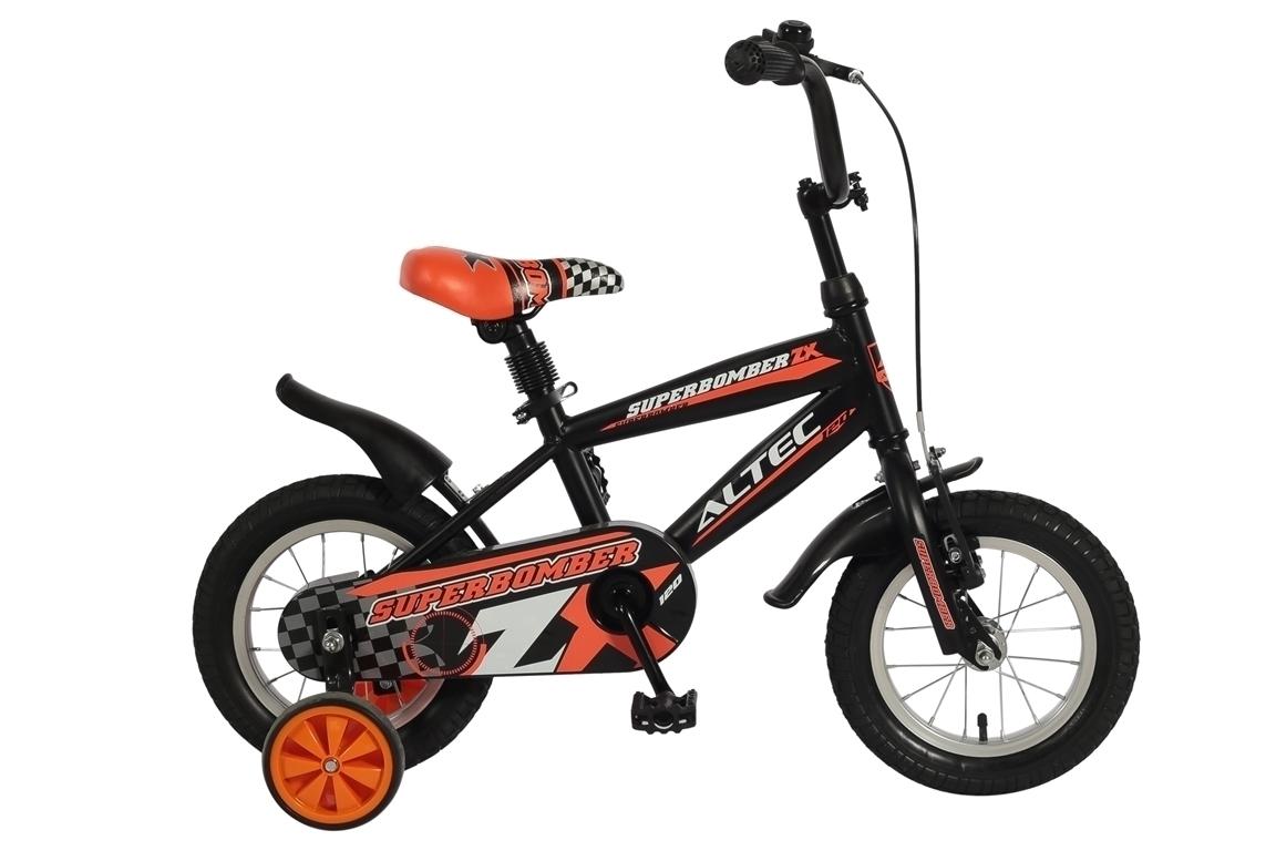 Altec Umit Superbomber 12 inch jongensfiets – oranje