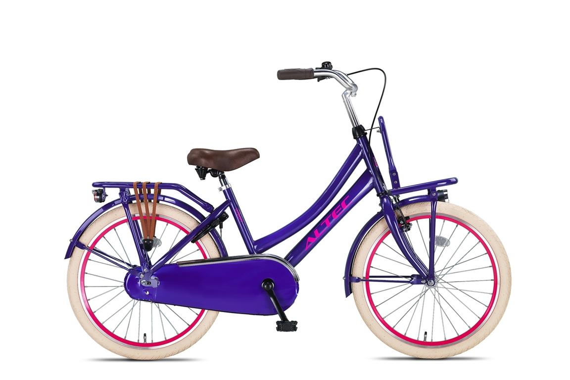 Altec Urban 22 inch meisjesfiets in doos verpakking – Purple