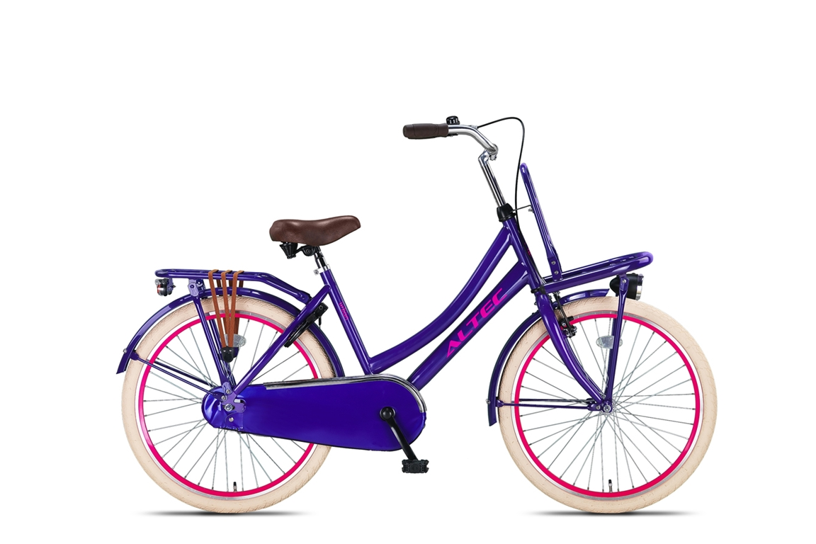 Altec Urban 24 inch meisjesfiets in doos verpakking – Purple