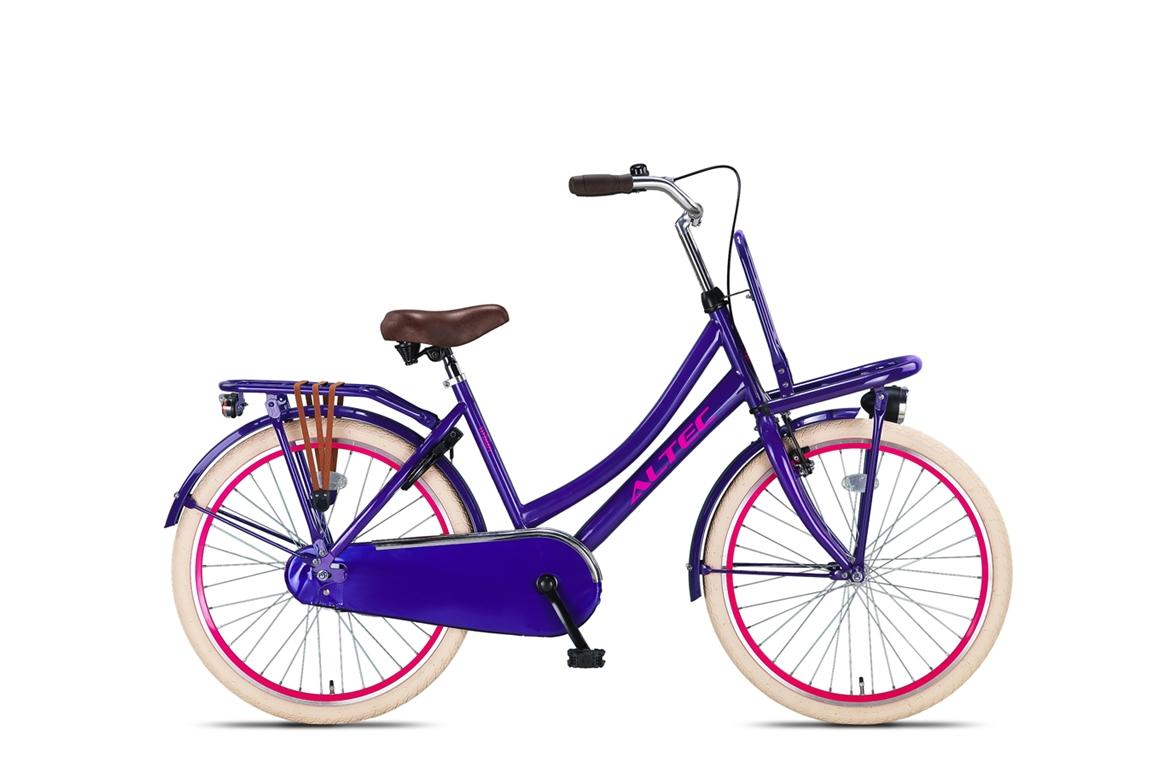 Altec Urban 24 inch meisjesfiets – Purple