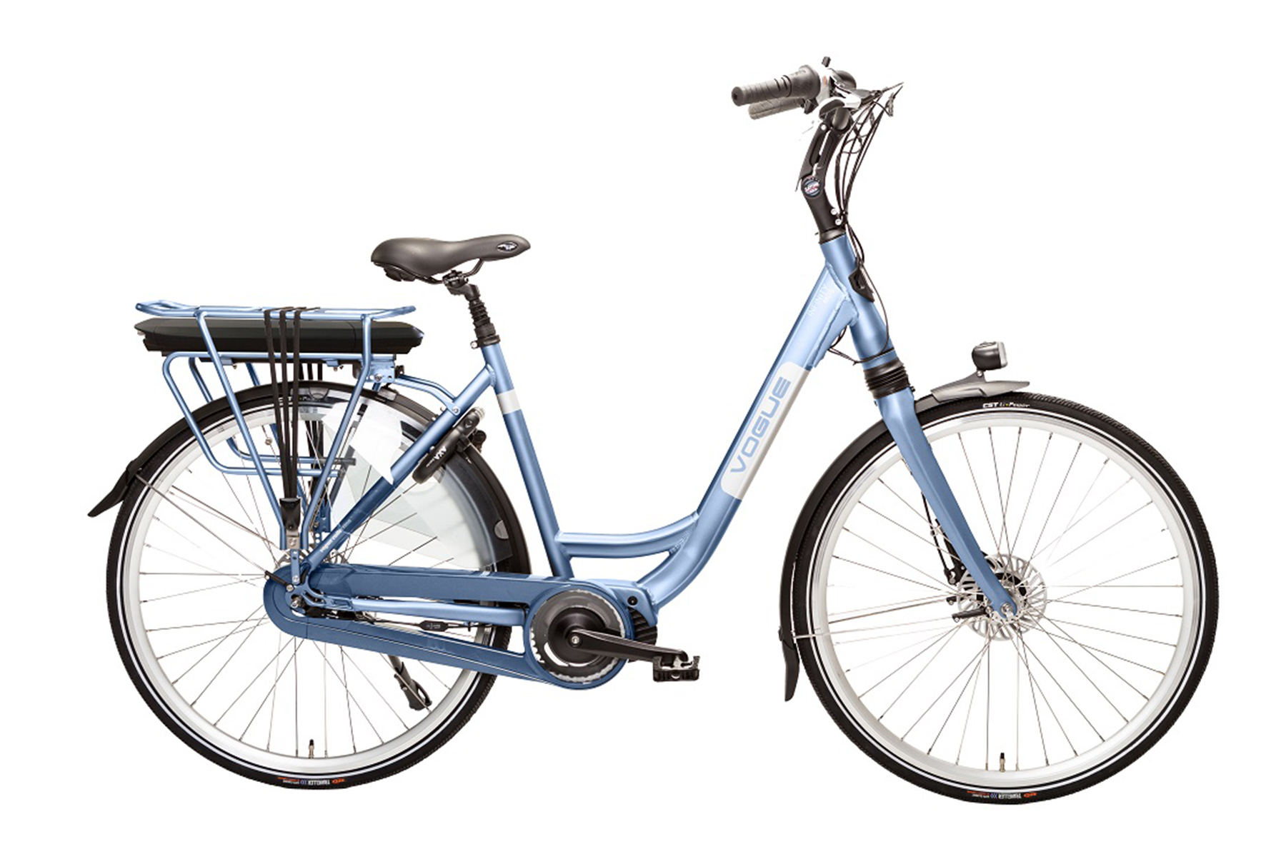 Vogue Infinity elektrische damesfiets Nexus 8 13Ah Silk-Blue