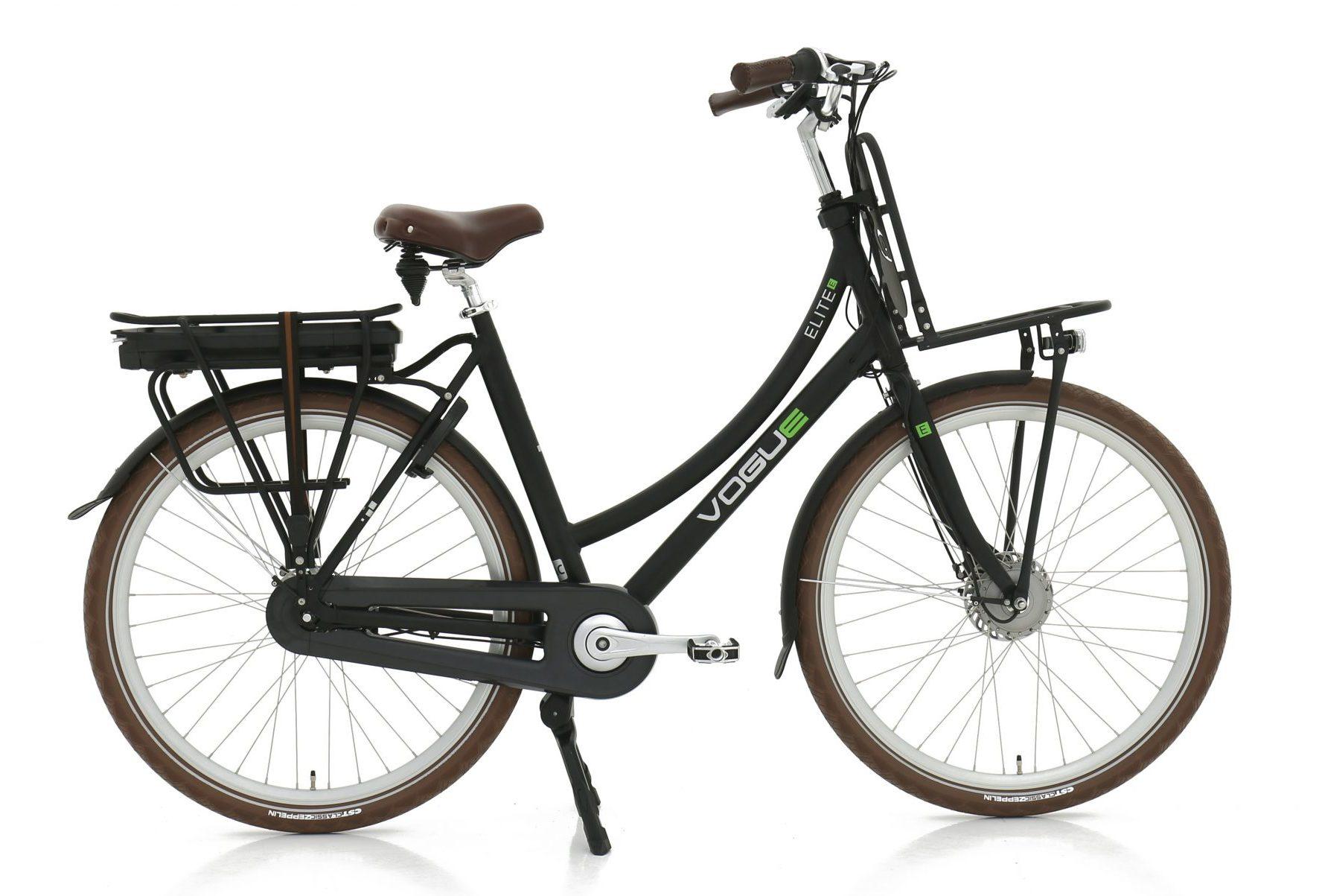 Elite 7 elektrische fiets 13Ah Mat Zwart