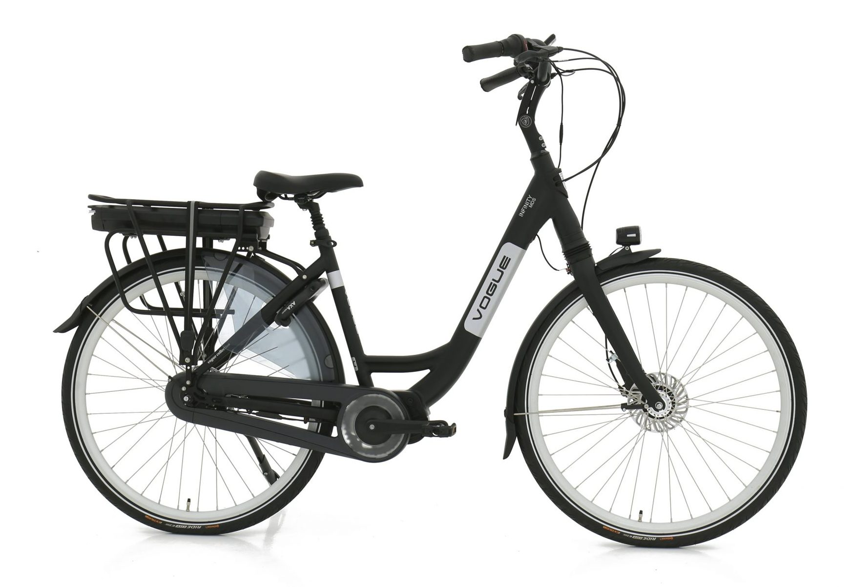 Vogue Infinity elektrische damesfiets Nexus 8 13Ah Matt-Black