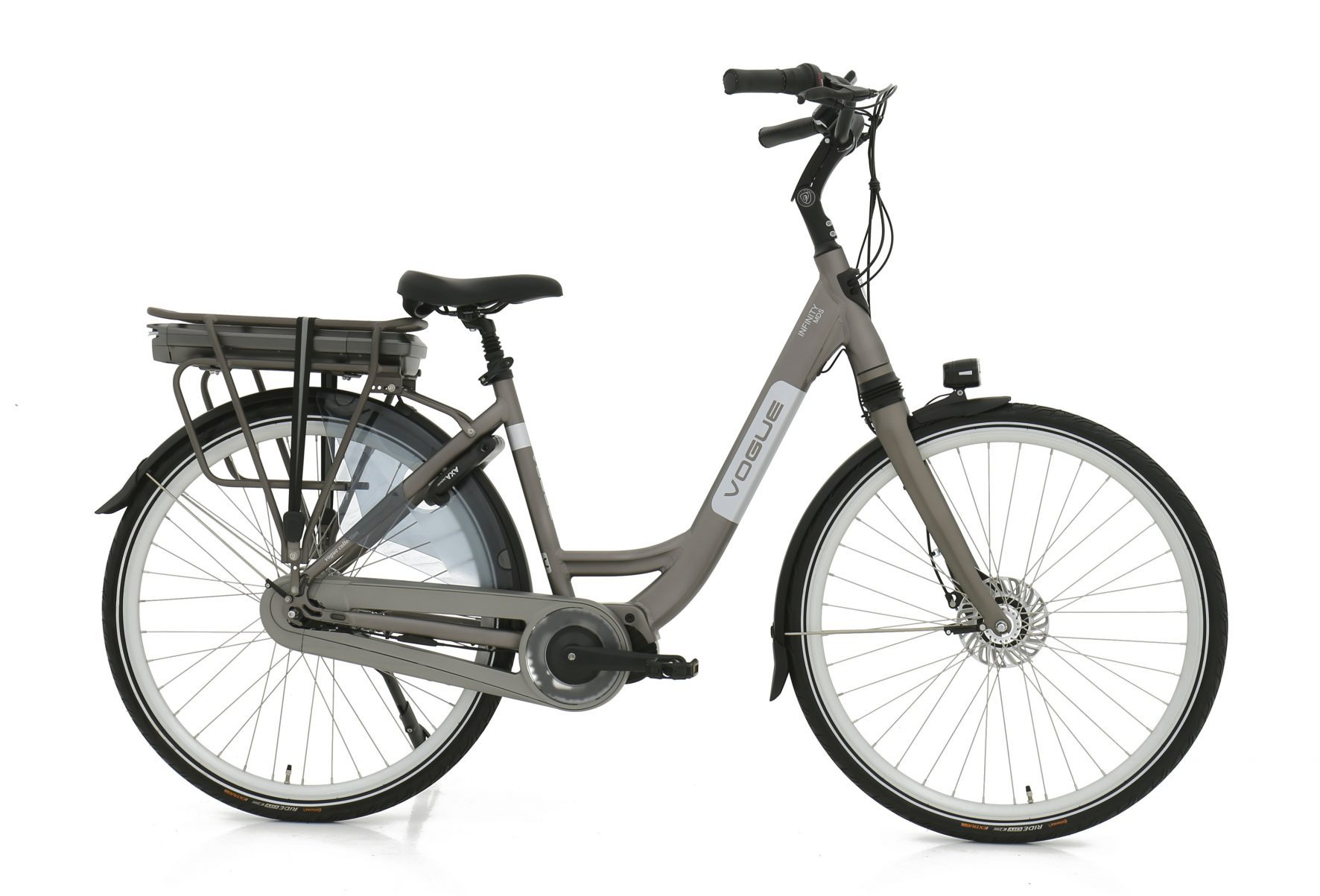 Vogue Infinity elektrische damesfiets Nexus 8 13Ah Matt-Grey
