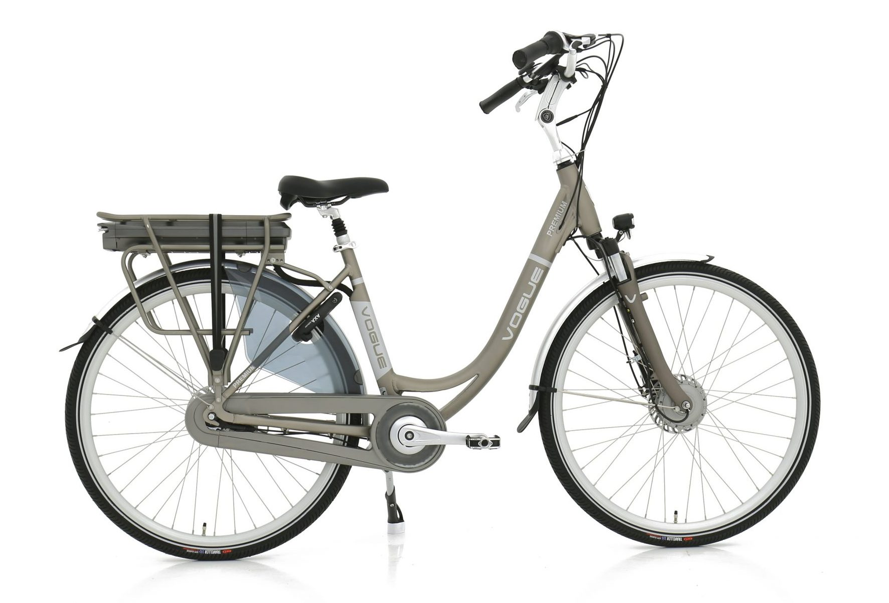 Vogue Premium elektrische damesfiets Nexus 7 13Ah Matt-Grey