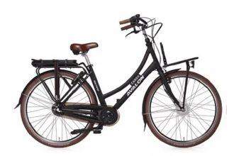 Avalon E-Cargo elektrische fiets 13Ah Mat Zwart