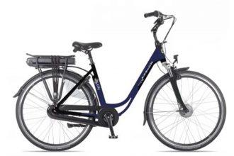 Avalon E-City elektrische fiets 13Ah Mat Blauw