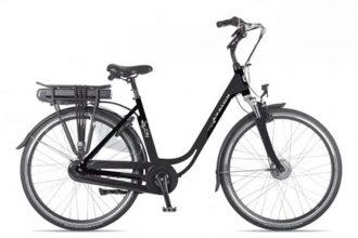 Avalon E-City elektrische fiets 13Ah Mat Zwart