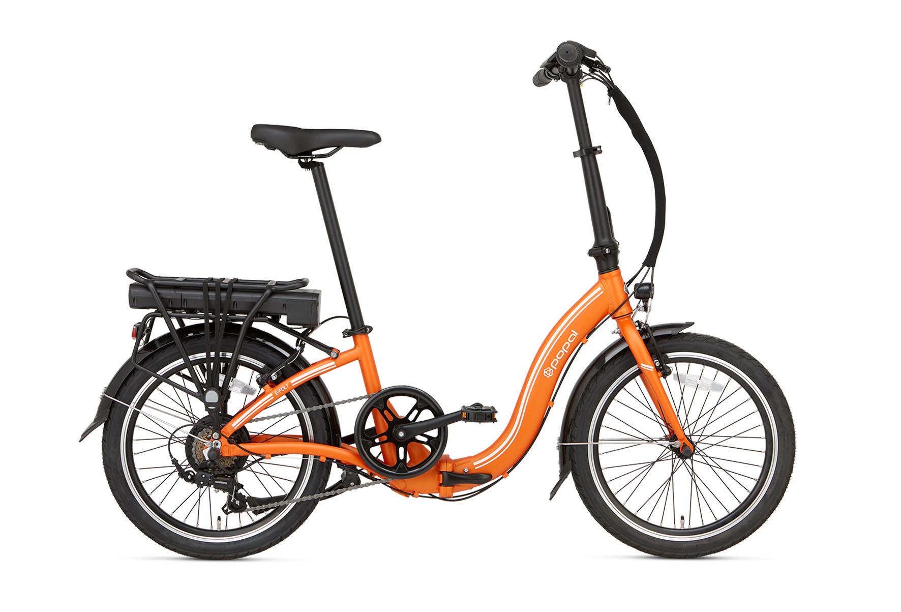 Popal E-FOLT 2.0 elektrische vouwfiets 20 inch Oranje