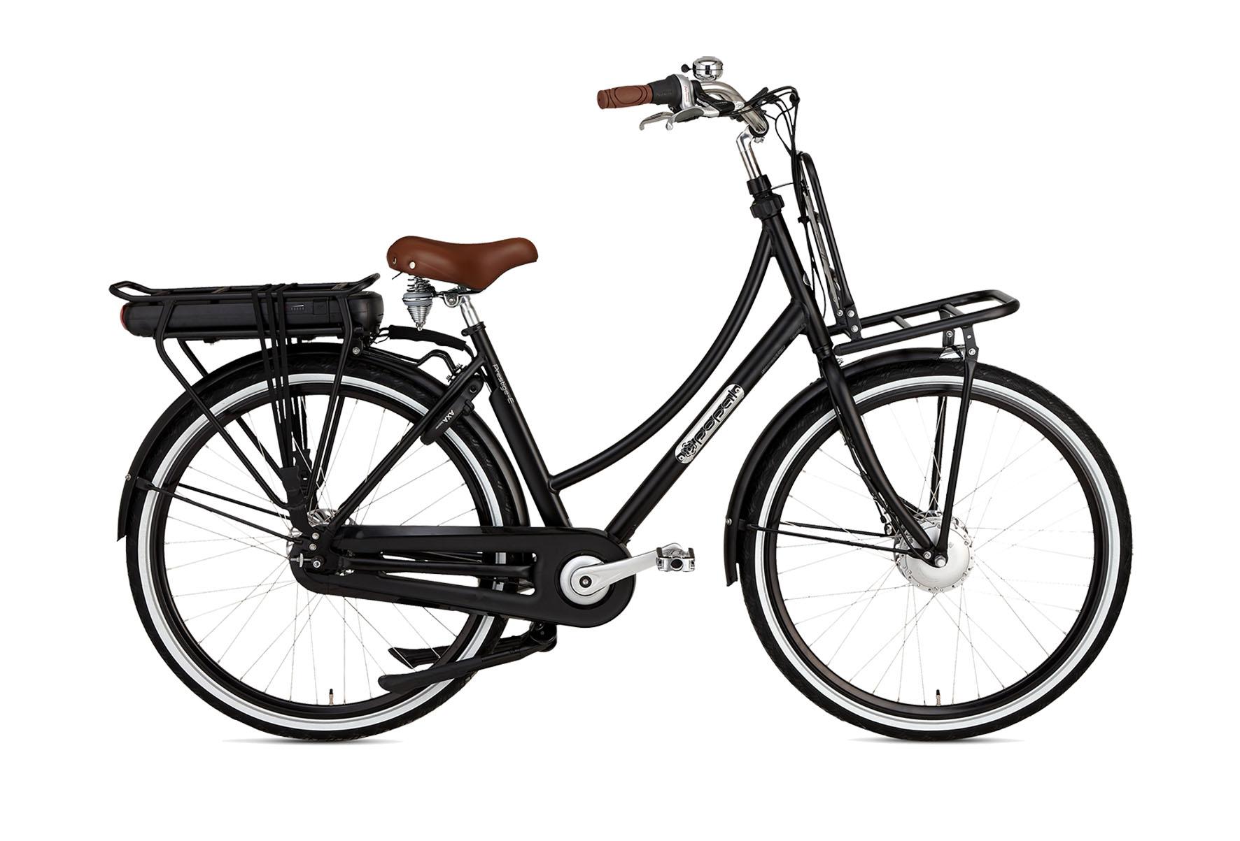 Daily Dutch Prestige-E N7 28 inch elektrische fiets Mat Zwart