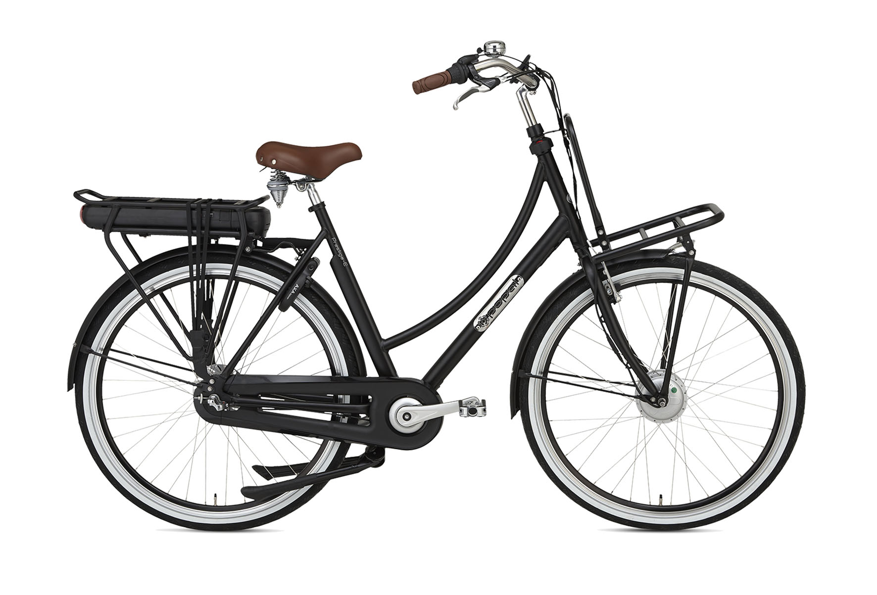 Daily Dutch Prestige-E N3 28 inch elektrische fiets Zwart