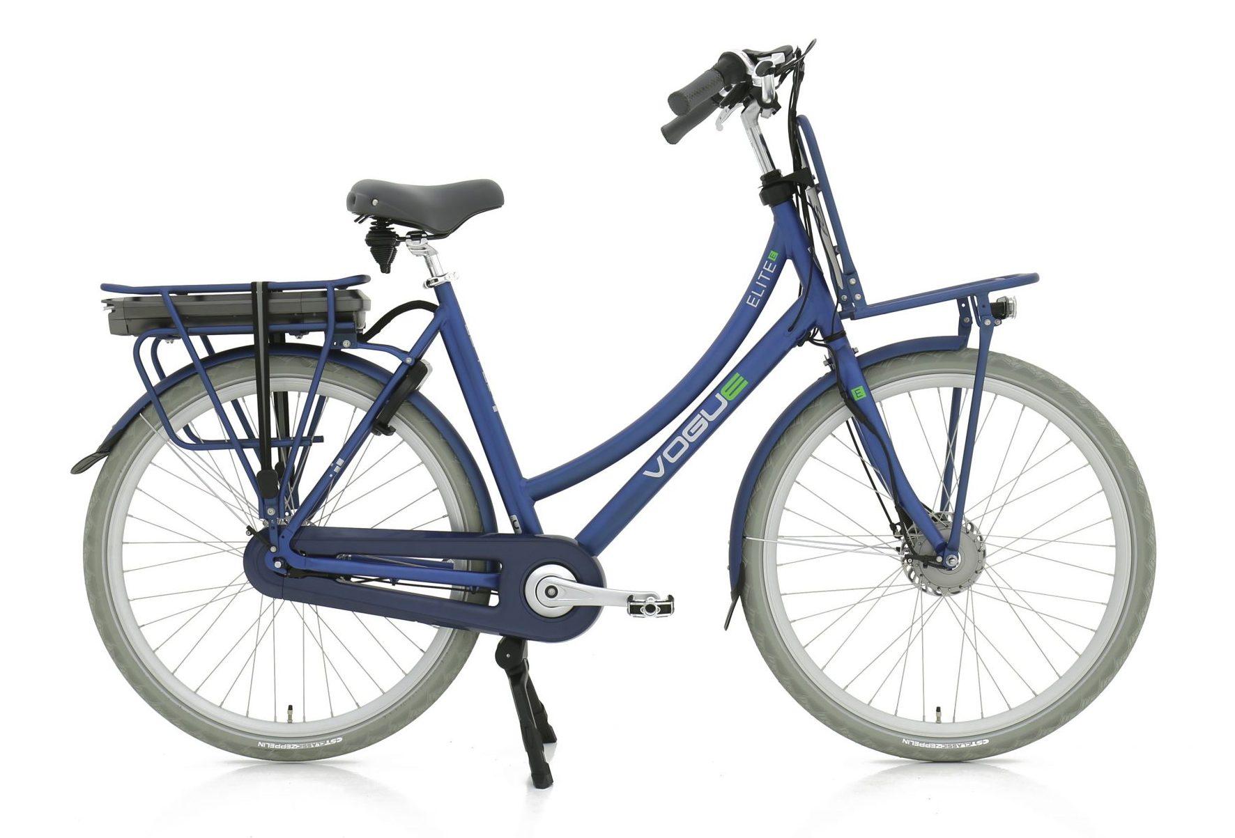 Elite 7 elektrische fiets 13Ah Mat Jeans Blauw
