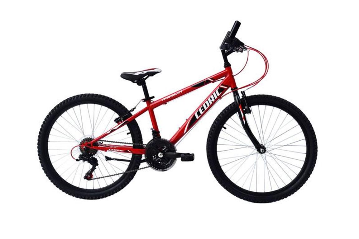 Cedric Mountainbike 18 Versnellingen 24 Inch – Rood