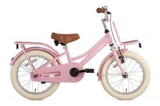 Cooper Bamboo 16 inch meisjesfiets in doos verpakking – Roze