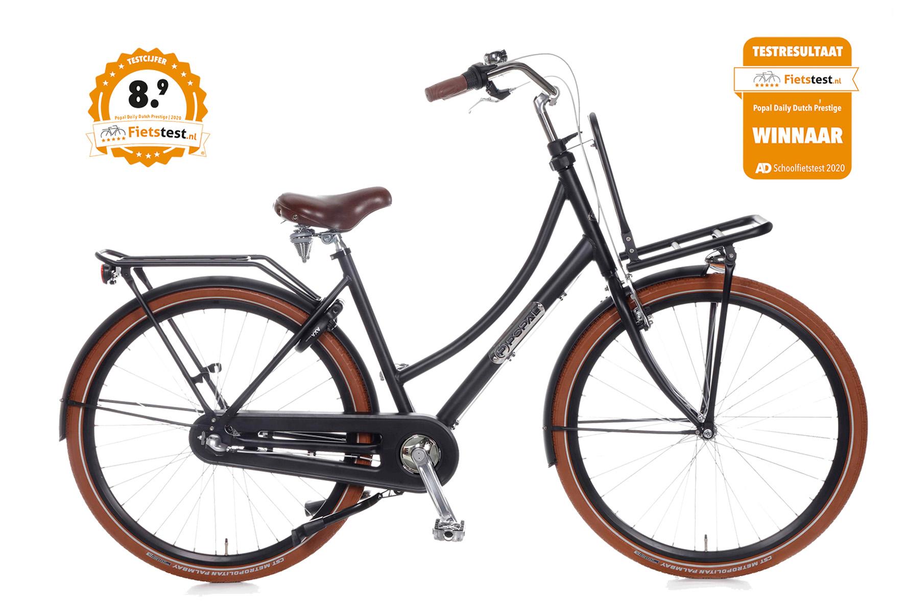 Popal Daily Dutch Prestige N3 28 inch – Mat Zwart
