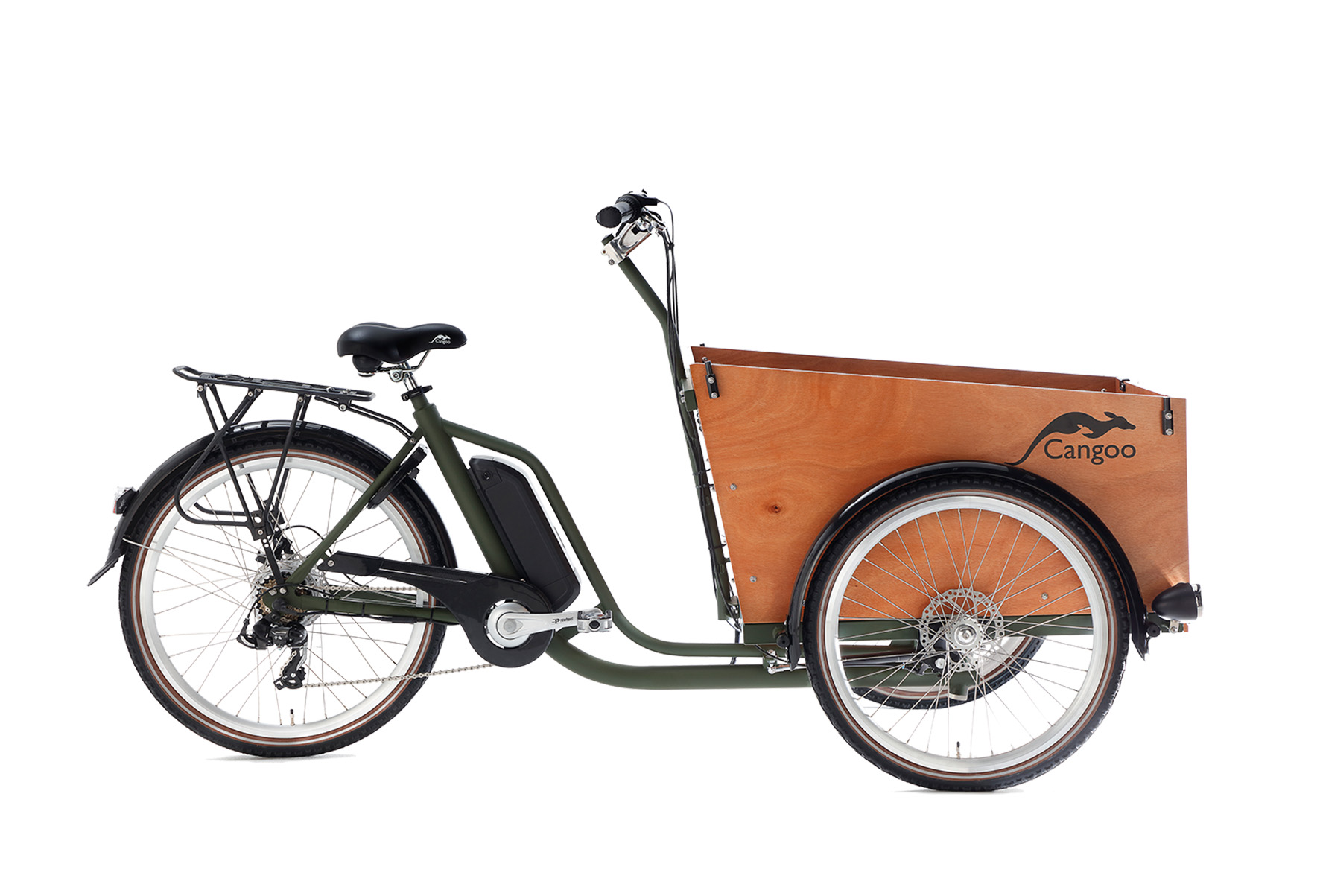 Cangoo Travel elektrische bakfiets – Blauw