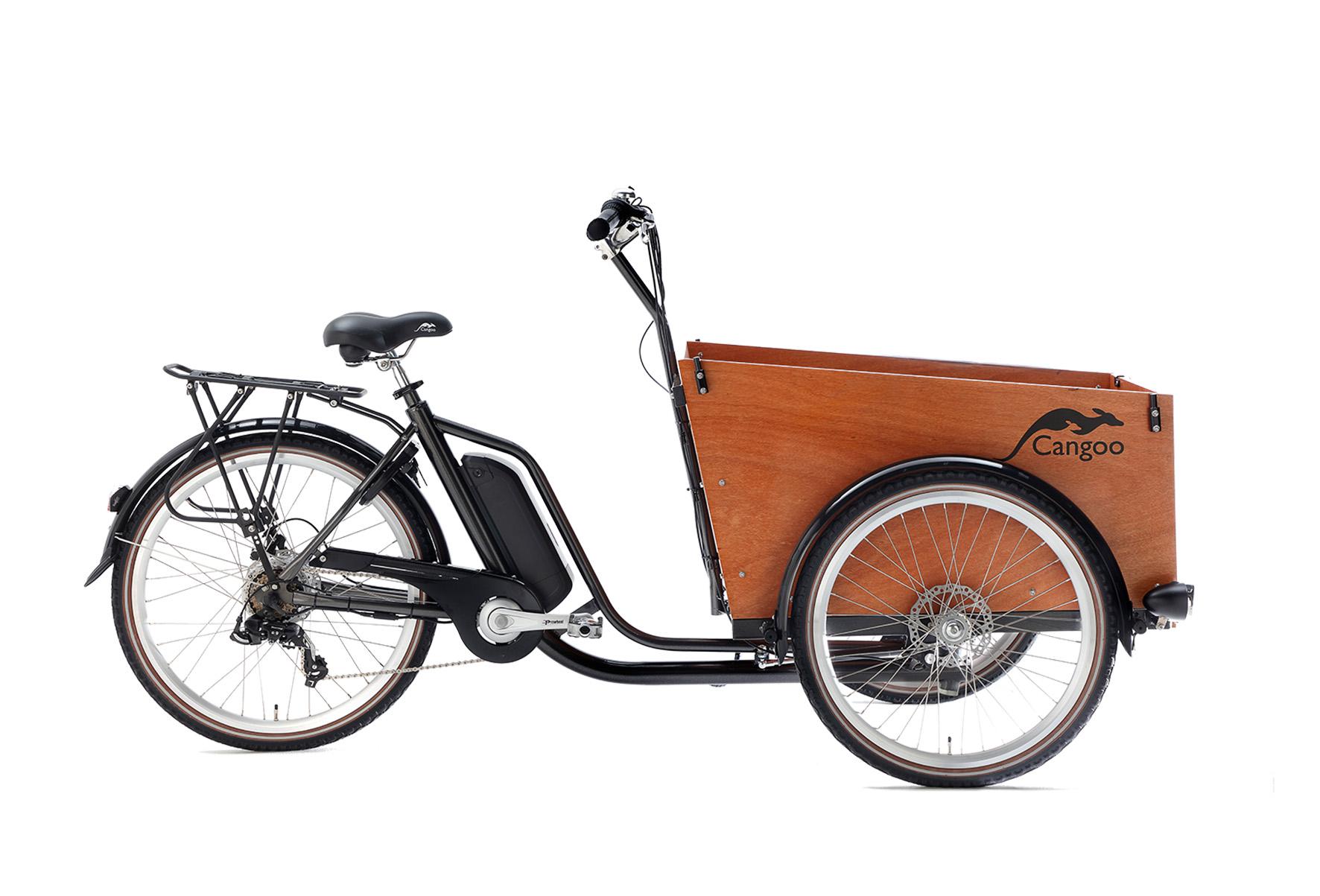 Cangoo Easy-E elektrische bakfiets – Grijs