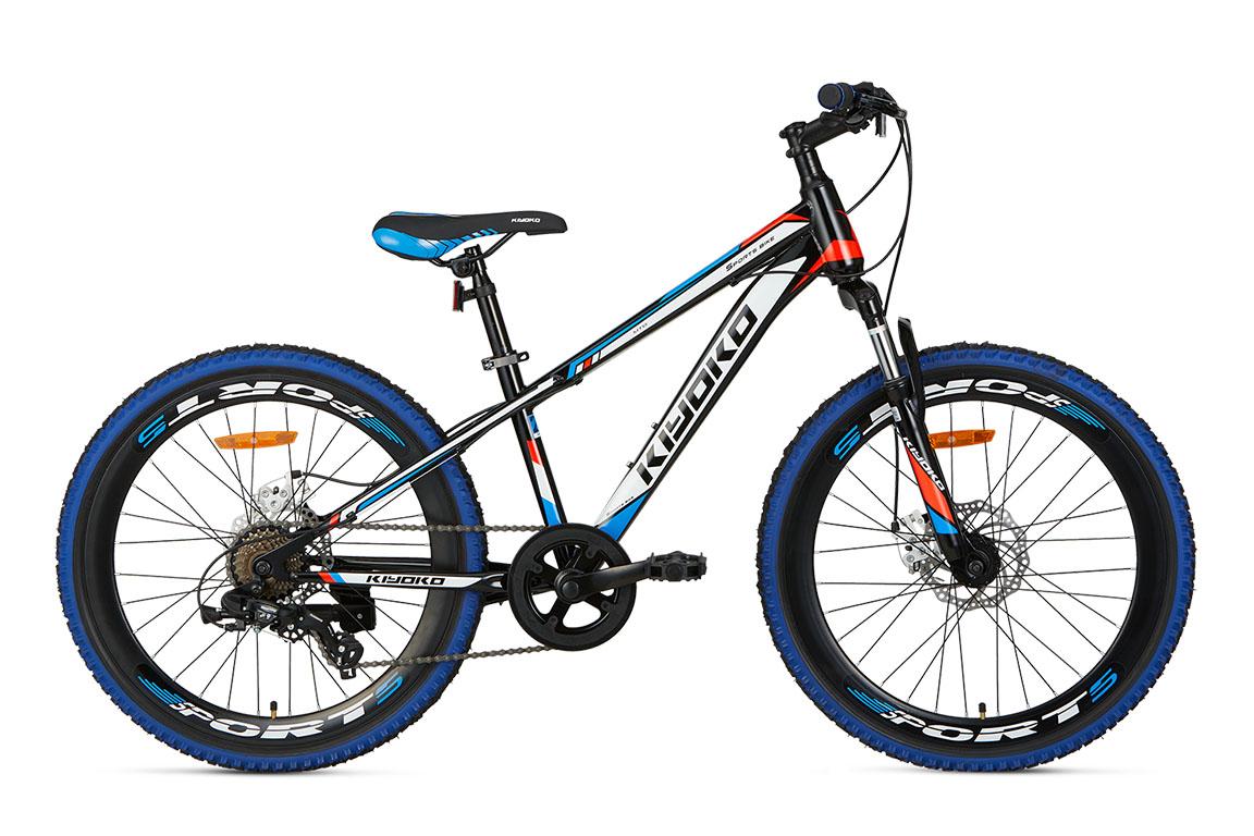 Popal Kiyoko 26 inch mountainbike in doos verpakking – blauw