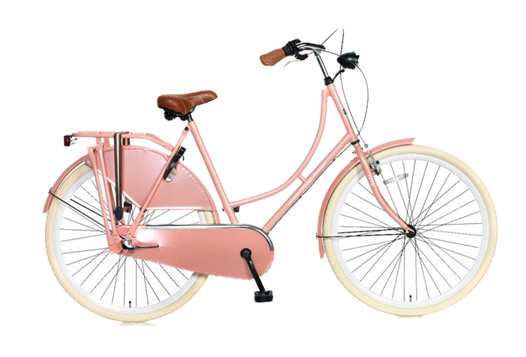 Popal Omafiets 28 inch – 3 versnellingen – Roze