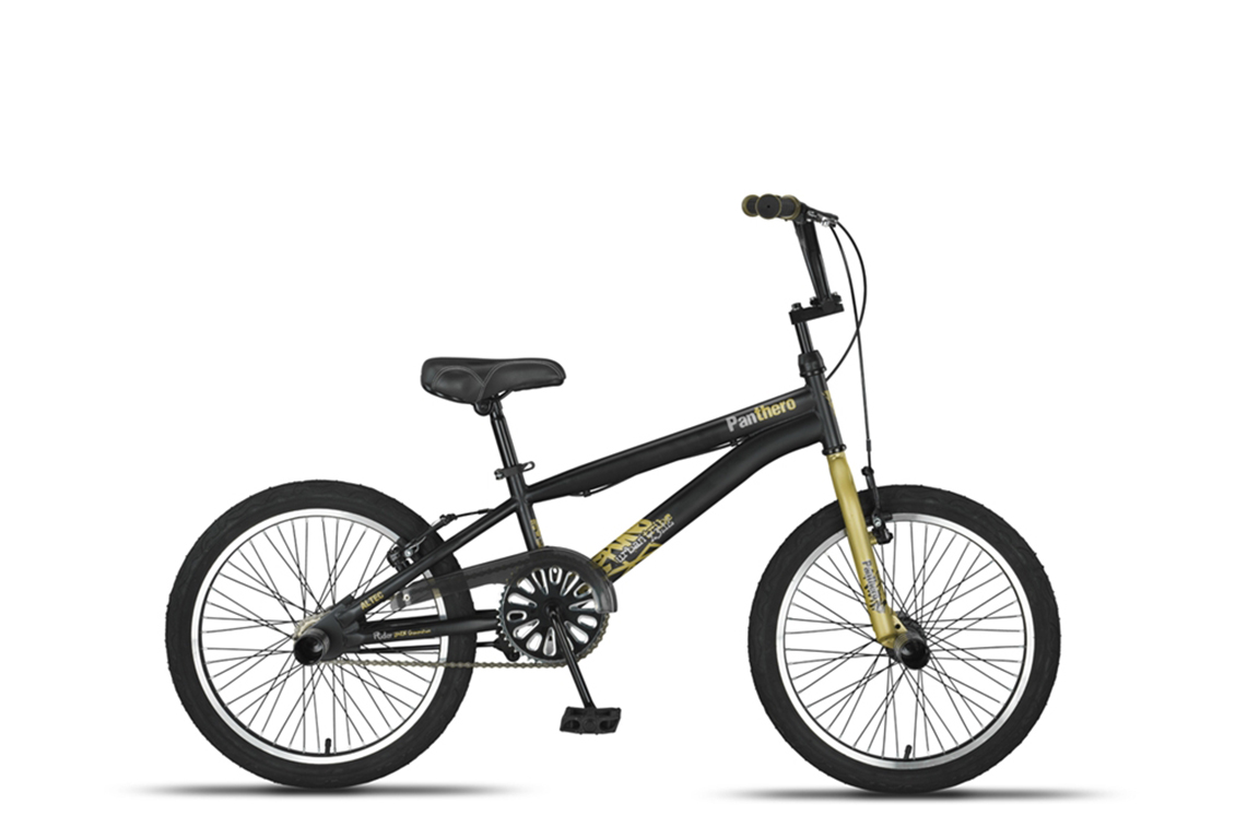 Altec Panthero BMX fiets 20 inch Black-Gold