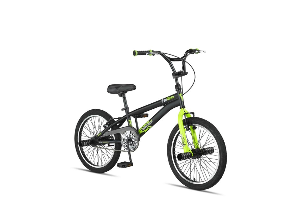 Altec Panthero BMX fiets 20 inch Black-Lime